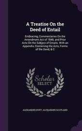A Treatise on the Deed of Entail by Alexander Duff image