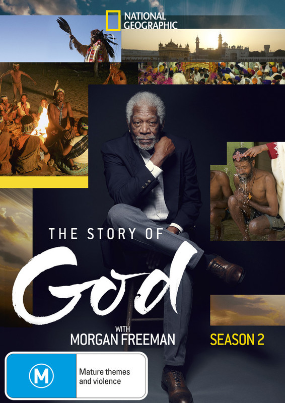 The Story Of God with Morgan Freeman - Season 2 on DVD