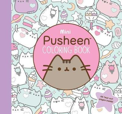 Mini Pusheen Coloring Book by Claire Belton