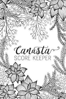Black & White Canasta Score Keeper by Midori Press