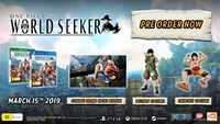 One Piece World Seeker for PS4 image