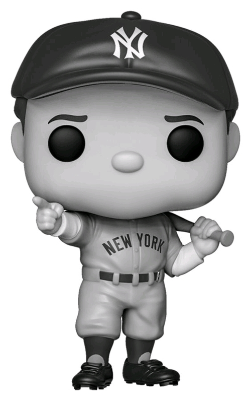 MLB: Babe Ruth (Black & White) - Pop! Vinyl Figure
