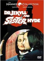 Dr Jekyll & Sister Hyde on DVD