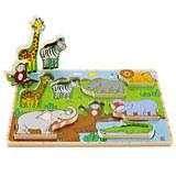 Hape: Wild Animals Stand Up Puzzle