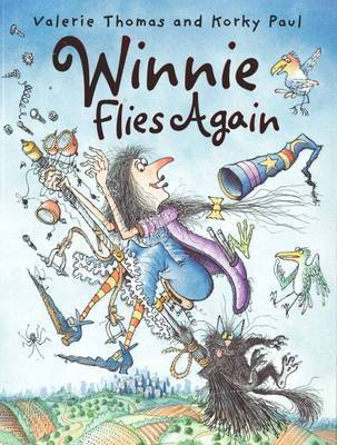 Winnie Flies Again by Valerie Thomas