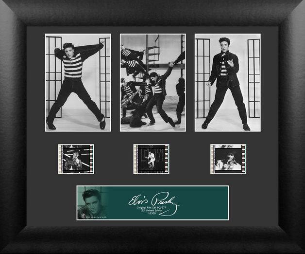 FilmCells: Elvis Presley - Triple-Cell Frame