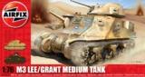 Airfix Lee Grant Tank 1:76 Model Kit