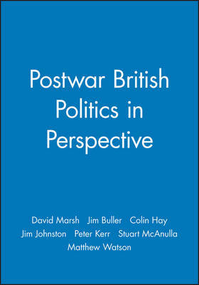 Postwar British Politics in Perspective by David Marsh image