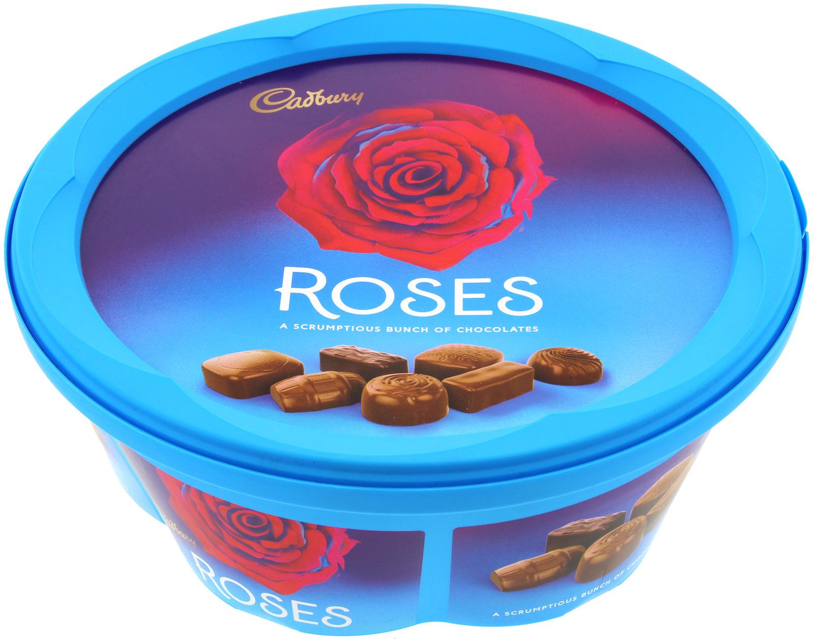 Cadbury Roses Tub At Mighty Ape Nz