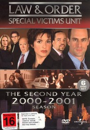 Law & Order - Special Victims Unit: Season 2 (6 Disc Box Set) on DVD image