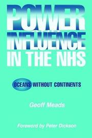 Power and Influence in the NHS by Ian Banks