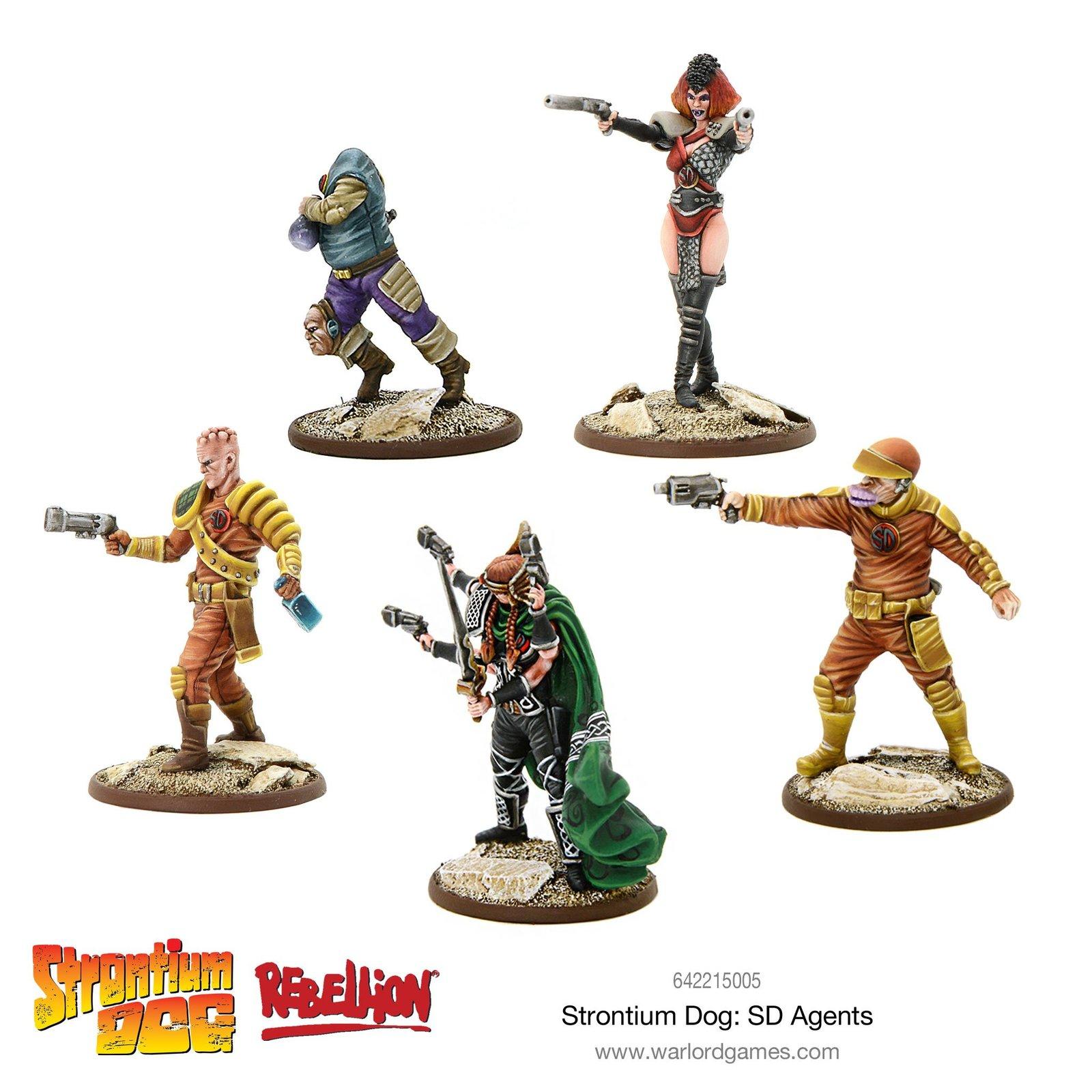 Strontium Dog: SD Agents image