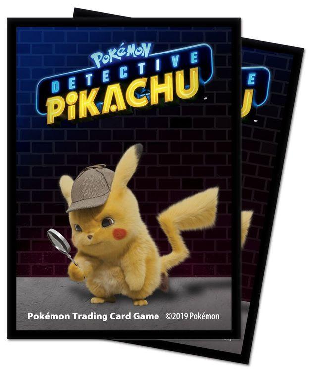 POKEMON - Deck Protector Sleeve- Detective Pikachu