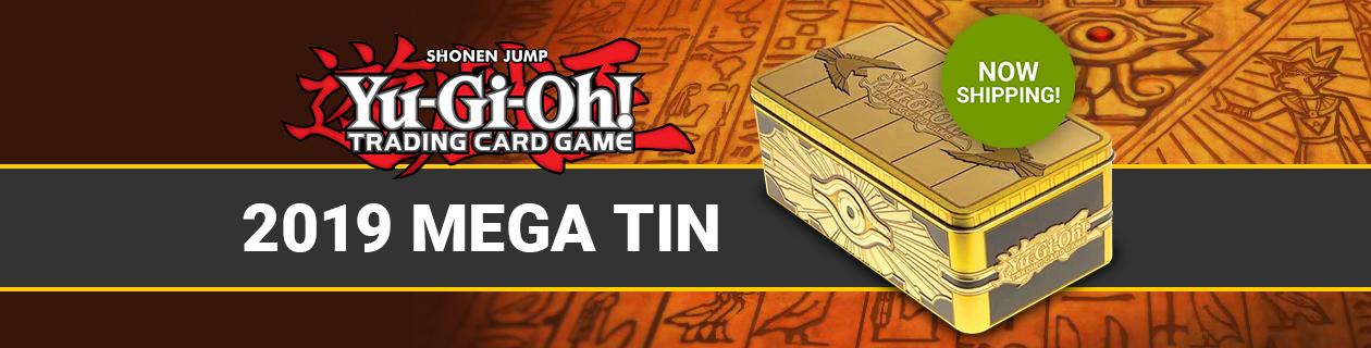 Order the 2019 Yu-Gi-Oh! Mega Tin today!