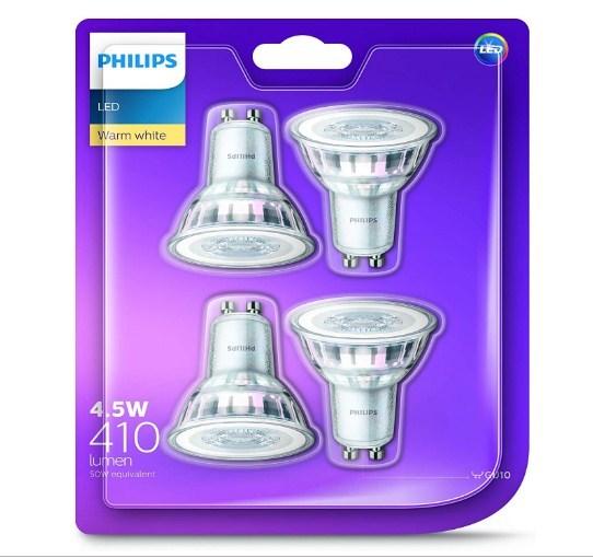 Philips: LED Classic GU10 830 60D 50W