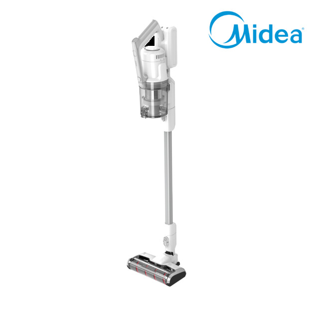 Midea 350W Brushless Powerful 2in1 Stick Vacuum Cleaner - White