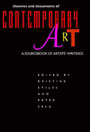 Theories and Documents of Contemporary Art: A Sourcebook of Artists' Writings image