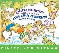 Five Little Monkeys Sitting in a Tree (Spanish/English) by Eileen Christelow