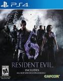 Resident Evil 6 for PS4