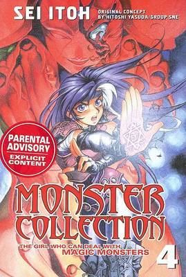 Monster Coll Girl Who Deal Maic Monst 4 by Y. Hitoshi image