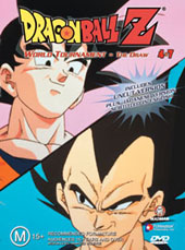 Dragon Ball Z 4.07 - World Tournament - The Draw Uncut on DVD
