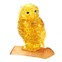 Crystal Puzzle - Golden Owl