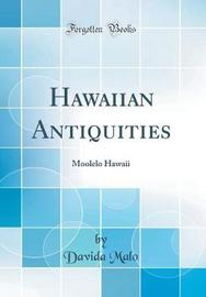 Hawaiian Antiquities by Davida Malo image