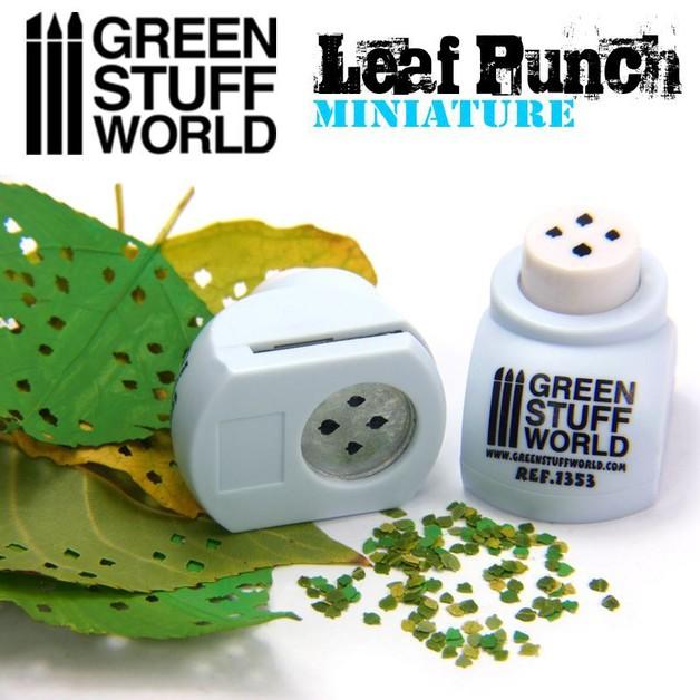 Green Stuff World - Miniature Leaf Punch (Light Blue)