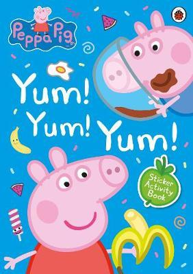 Peppa Pig: Yum! Yum! Yum! Sticker Activity Book by Peppa Pig image