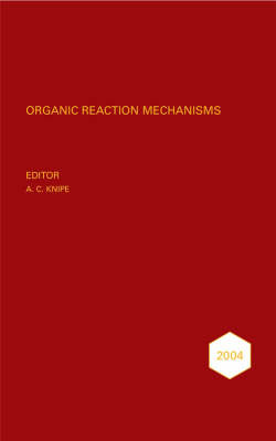 Organic Reaction Mechanisms 2004 image