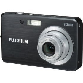Fujifilm J10 8.2MP Digital Camera Black