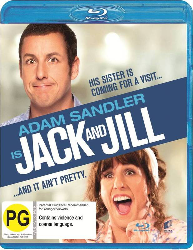 Jack and Jill on Blu-ray