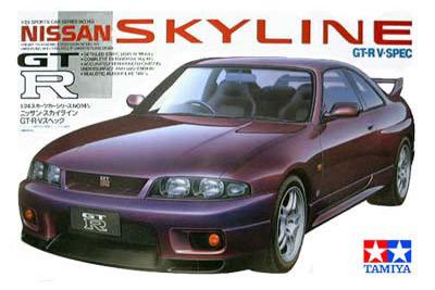 Tamiya Nissan Skyline GT-R V. Spec 1/24 Kitset Model