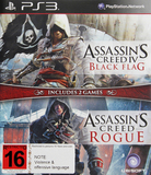 Assassin's Creed IV Black Flag & Assassin's Creed Rogue Double Pack for PS3