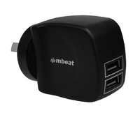 mbeat: Gorilla Power Duo 3.4A - Dual USB Ports Smart Charger