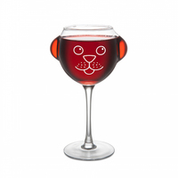 BigMouth Inc: Ruff Day Wine Glass - Novelty Wine Glass