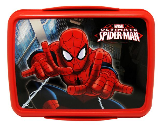 Marvel Spiderman Klip It Lunch Box (2L)