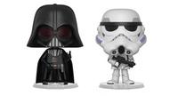Darth Vader + Stormtrooper - Vynl. Figure 2-Pack