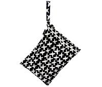 Mum 2 Mum: Wet Bag - Cross / Black (2 Pack)