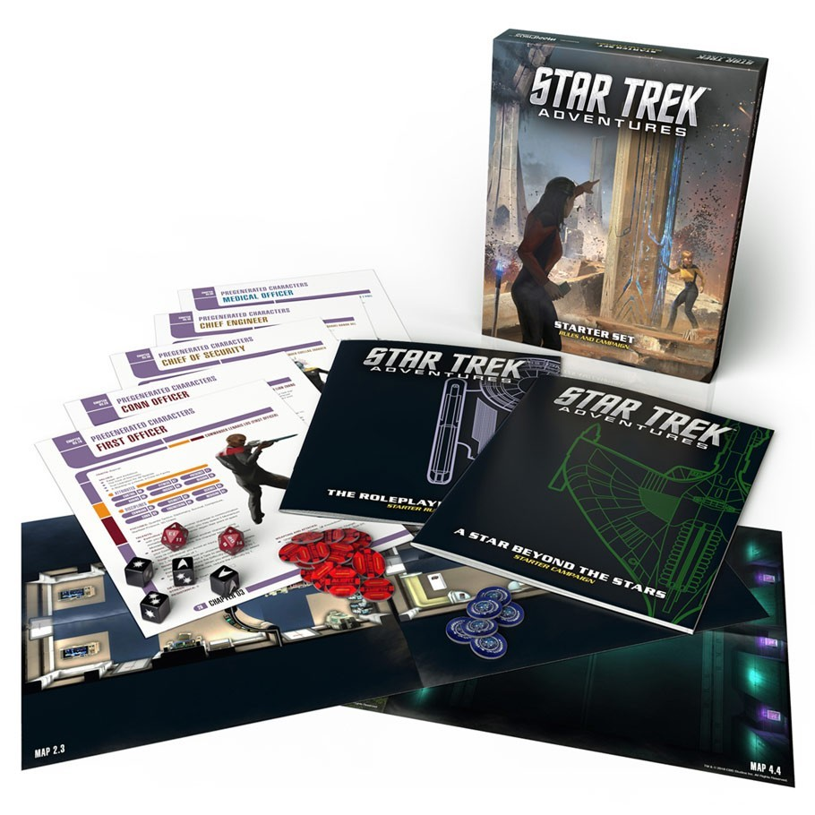 Star Trek Adventures RPG: Starter Set image