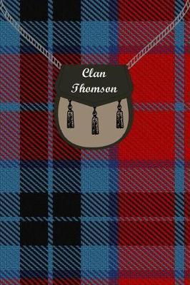 Clan Thomson Tartan Journal/Notebook by Clan Thomson
