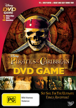 Pirates Of The Caribbean - Interactive DVD Game on DVD