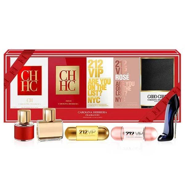 Carolina Herrera: Mini Fragrance 5 Piece Gift Set