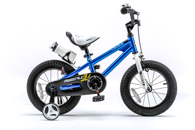 Royal Baby: BMX Freestyle - 12 Inch Bike (Blue)