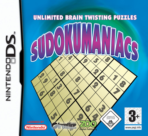 Sudokumaniacs for Nintendo DS