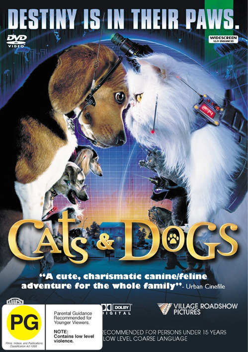 Cats & Dogs on DVD