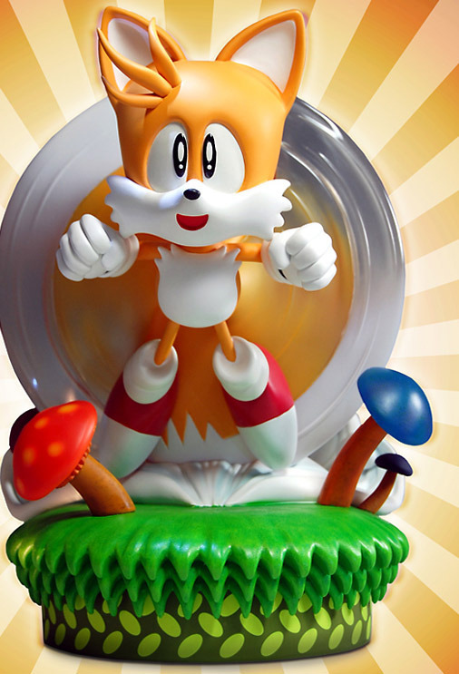 """Sonic the Hedgehog 12"""" Statue - Tails the Fox (Limited Ed. 1500!)"""