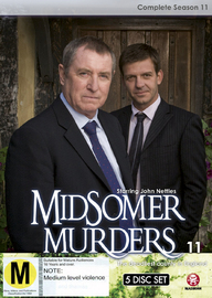 Midsomer Murders - Complete Season 11 (Single Case) on DVD image