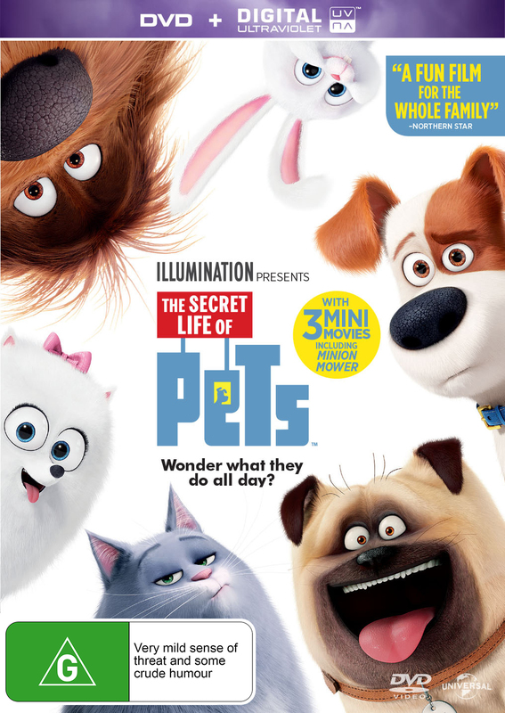 The Secret Life Of Pets on DVD