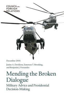 Mending the Broken Dialogue by Janine a Davidson